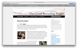 good recording website screen gr